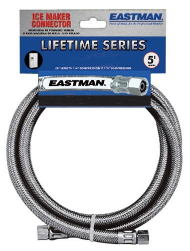 Eastman 41036 Ss Icemaker Connection with 1 4-Inch Comp X 1 4-Inch Comp by Eastman