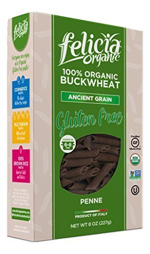 Felicia Organic - Buckwheat Penne (Pack of 6) by Felicia Organics