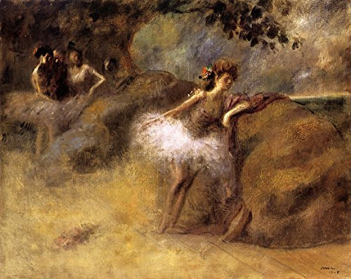 Dancer on the Set by Jean-Louis Forain - 16