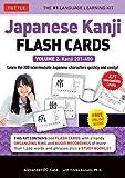 Japanese Kanji Flash Cards Kit Volume 2: Kanji
