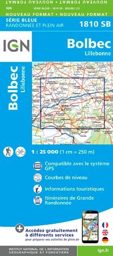 Bolbec / Lillebonne 2017: IGN1810 by (Map)