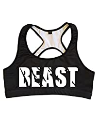 Workout Sports Bra - Beast, Badass &Savage