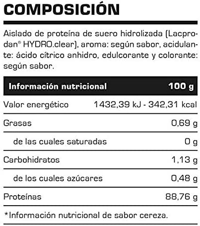 Proteina Hidrolizada Hydro Isolate 2lb (907 gr) - Suplementos Deportivos - Vitobest (Mora)