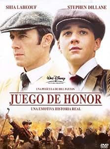 Juego De Honor [Blu-ray]