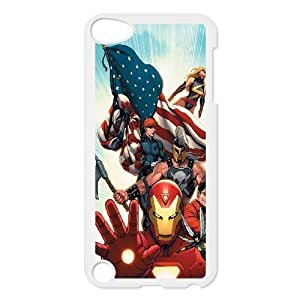 C-EUR Customized Print Avengers Marvel Pattern Hard Case for iPod Touch 5