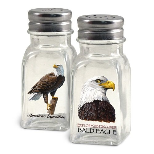 American Expedition Bald Eagle Salt and Pepper Shakers