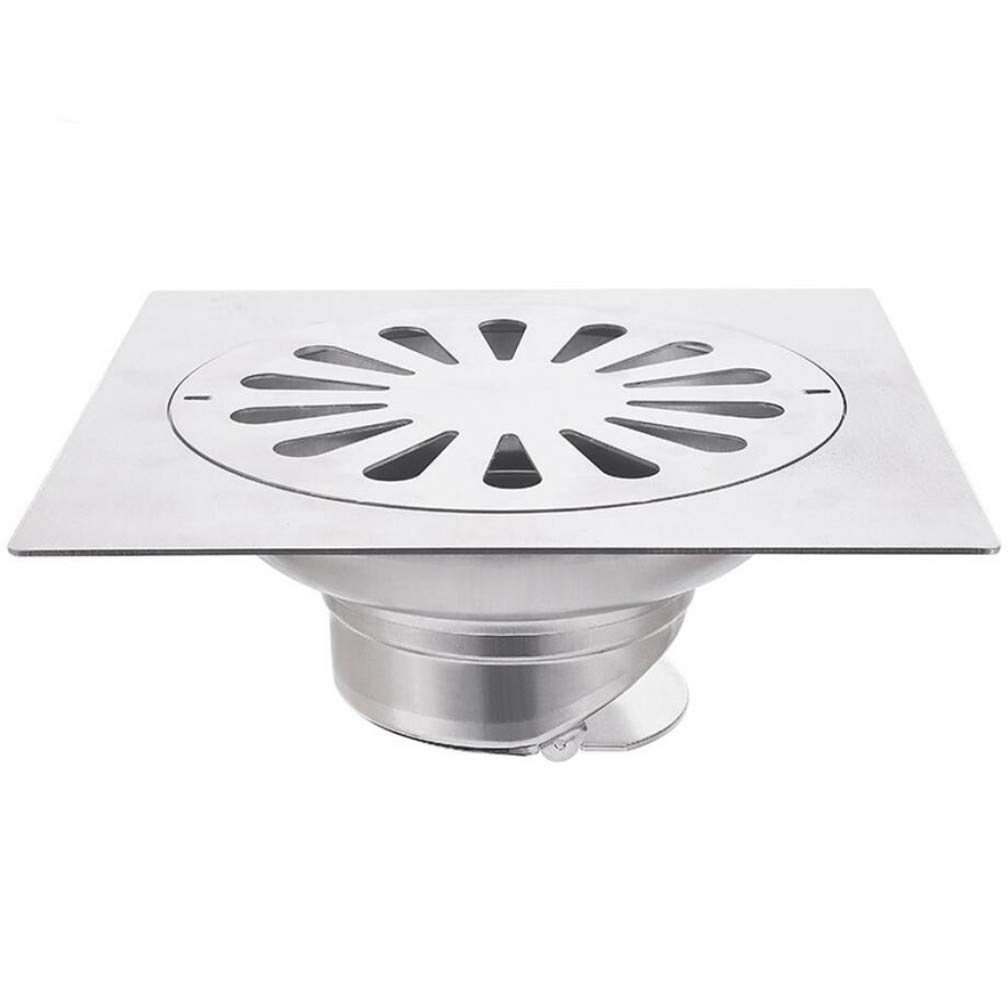 CSDL Stainless steel floor drain, deodorant, large displacement, 20cm*20cm