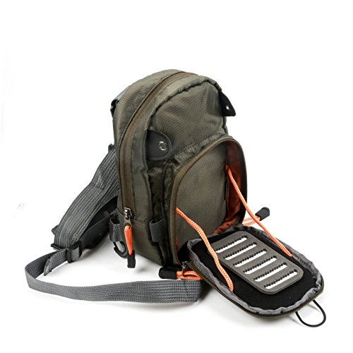 Maxcatch fly fishing chest bag lightweight chest pack for Used fly fishing gear for sale