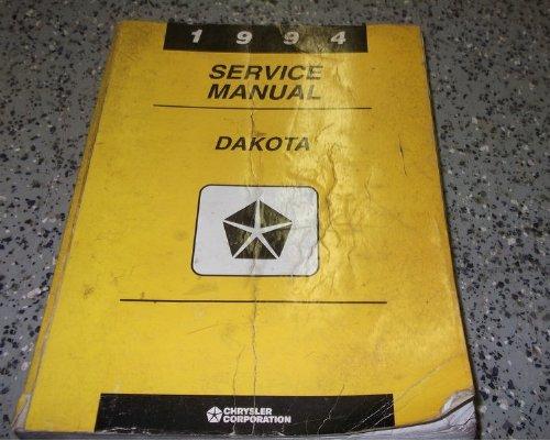 1994 Dodge Dakota Truck Service Repair Shop Manual FACTORY (Factory Repair Manual)