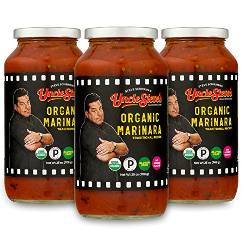 Tomato Sauce by Uncle Steve's - (Marinara) for Spaghetti, Pasta or (Organic Roasted Soy Sauce)