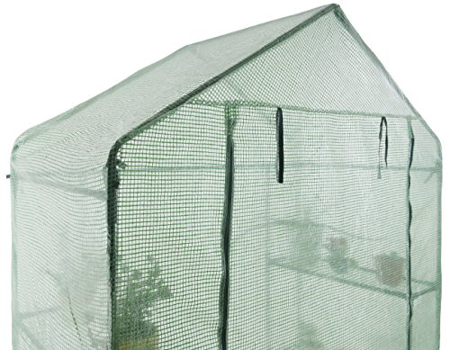 GOJOOASIS Walk in Portable Garden Greenhouse Mini Plants Shed Hot House with 3 Tiers by GOJOOASIS (Image #6)