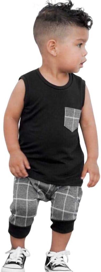 Boys Clothing 2PCS SetSleevelessSummer Clothing
