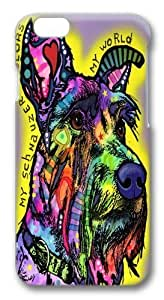 iphone 6 plus Cases & Covers -My Schnauzer Custom TPU Soft Case Cover Protector for iphone 6 plus 5.5 inch Black