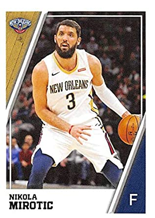 2018-19 Panini NBA Stickers Collection  319 Nikola Mirotic New Orleans  Pelicans Official Basketball 59b05d589