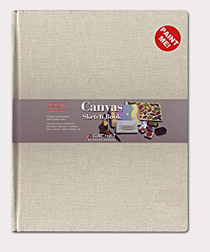 Cachet Cover - Daler-Rowney Cachet Canvas Cover Sketchbook, 8.5 X 11 inches, 224 Sheets (469100811)