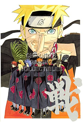 CGC Huge Poster - Naruto Shippuden - Naruto and Akatsuki - N