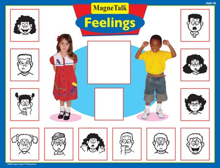 Magnetic Feelings Board Game - Super Duper Educational Learning Toy for Kids