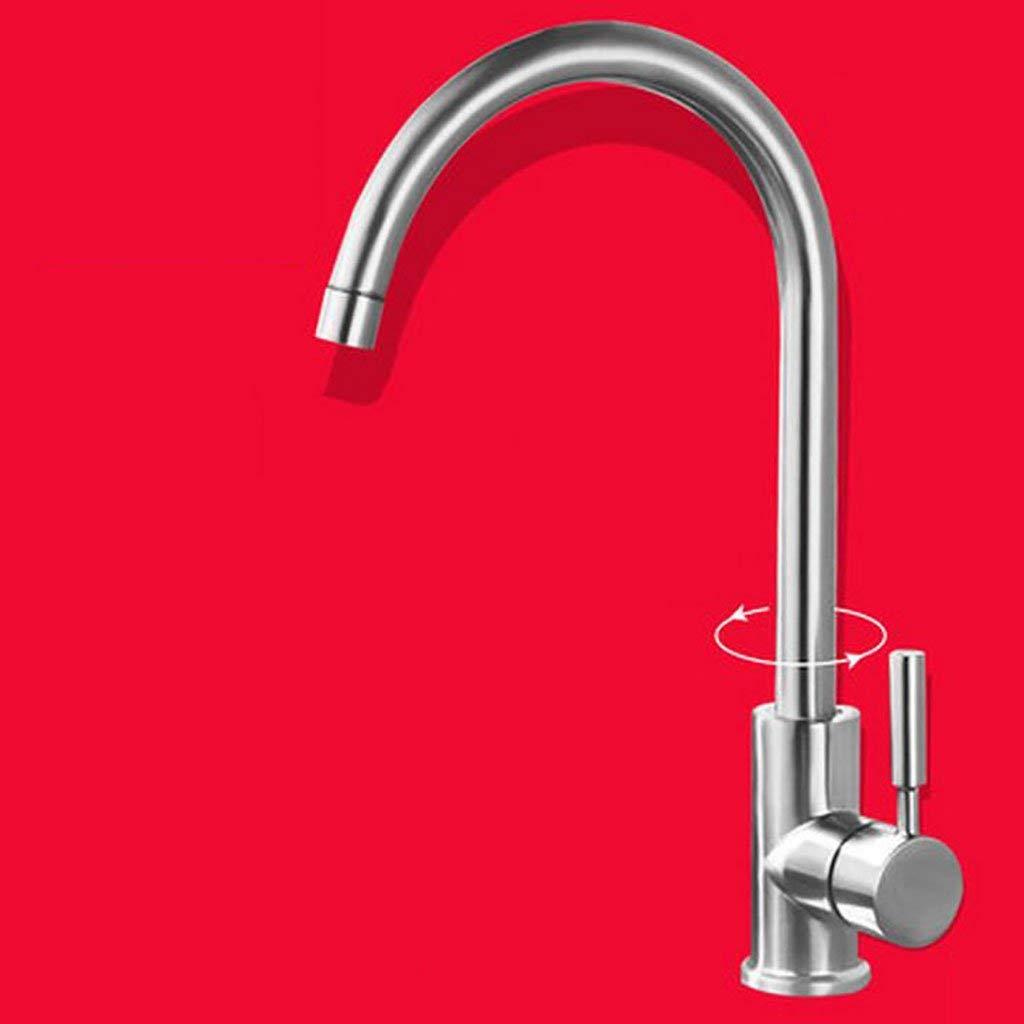 9  DYR Faucet Kitchen Tap, Single Lever Tap, Trough Caipen Faucet (color  9 )