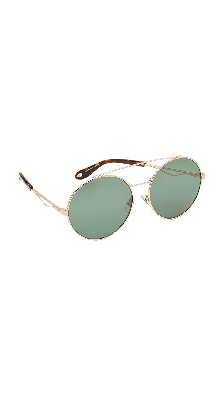 Amazon.com: Givenchy Womens Round Aviator Sunglasses, Gold ...