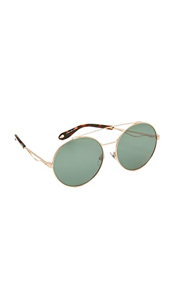 50a2818338bf2 Sunglasses Givenchy Gv 7048  S 0DDB Gold Copper EL green lens  Amazon.ca   Clothing   Accessories