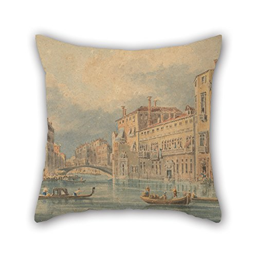 18 X 18 Inches / 45 By 45 Cm Oil Painting John Henderson - Venetian Fantasy Pillow Shams,twice Sides Is Fit For Play Room,dance Room,pub,indoor,gf,boy Friend ()