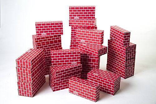 cardboard building blocks - 3