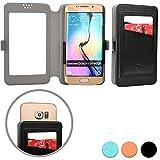 Cooper Cases(TM) Slider Pocket Acer Liquid C1/E1/E2/E3 (E380)/M220/Z200/Z220 Smartphone Wallet Case in Black