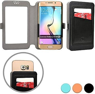 Cooper Cases Funda Deslizable de Bolsillo Tipo Cartera (TM) Slider Pocket para Smartphone de BLU Life Play/S/X/Mini/Pure Mini en Negro: Amazon.es: Electrónica