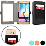 Cooper Cases(TM) Slider Pocket Universal 5' Smartphone Wallet Case in Black
