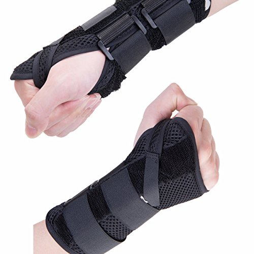 Fittoo Wrist Support Hand Palm Brace #1 Compression Sleeve Wrist Support Brace - Recovery from Pain, Sprains, Carpal Tunnel, Bursitis, Tendonitis, Arthritis - - Bowling Mall