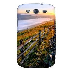 Galaxy S3 Case Cover Skin : Premium High Quality Rising Sun Case
