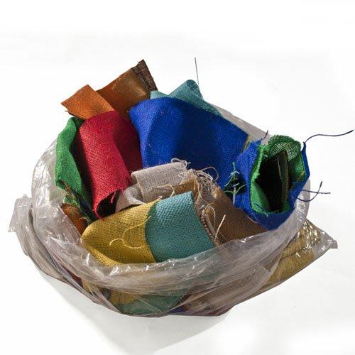 UPC 738726093623, Assorted Remnant Burlap Bag - 5 Lbs