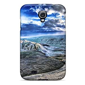 Protection Case For Galaxy S4 / Case Cover For Galaxy(glacier River Hdr)
