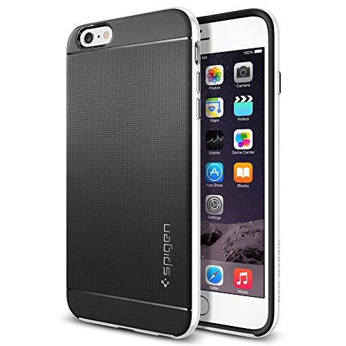 Spigen iPhone 6 Plus Case Neo Hybrid Series Infinity White SGP11069