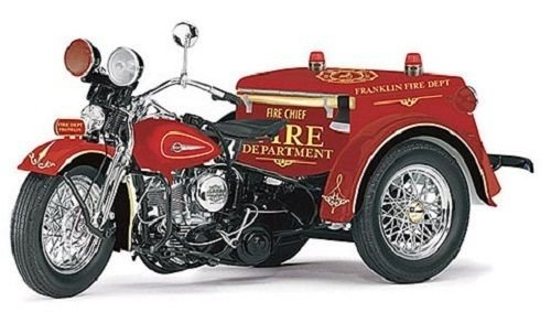 Franklin Mint Harley Davidson Diecast 1947 Fire Chief Service Car