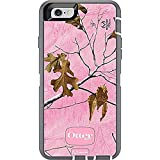 Rugged Protection OtterBox DEFENDER Case for iPhone 6, 6S - Bulk Packaging - REALTREE XTRA PINK (WHITE/GREY W/XTRA PINK CAMO)