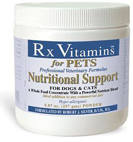 Rx Vitamins Nutritional Support for Dogs & Cats - Nutrient-Filled Food Supplement Powder - Veterinarian Formulated - 9.07 oz Powder