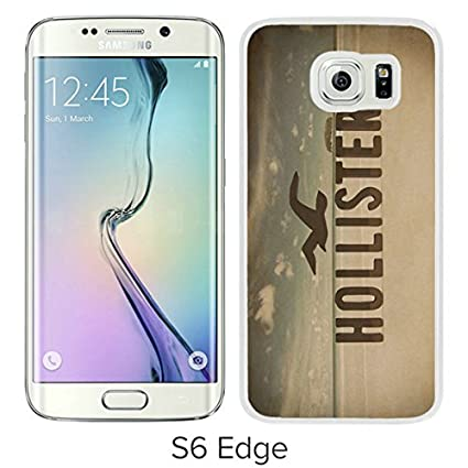 e9aff47ce Popular Design Samsung Galaxy S6 Edge Case Hollister 10 White Best New  Design Samsung Galaxy S6 Edge Cover Case  Amazon.ca  Cell Phones    Accessories