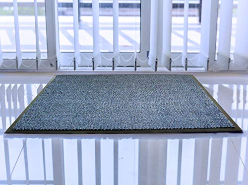 Doortex Ribmat, Indoor Entrance Mat, Blue, 24