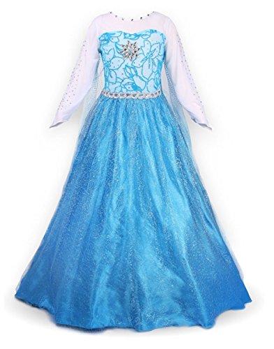 Frozen Dress For Child (sophiashopping girl's princess Dress For This Summer)