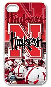 Iphone 4 4s Case Cover NCAA Nebraska Cornhuskers Huskers Hot Favourite Iphone 4 4s Fitted Cases