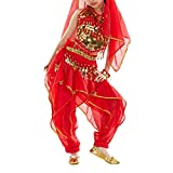 BellyLady Kid Belly Dance Costume, Harem Pants & Halter Top For Christmas