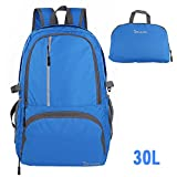 OXA Ultralight Foldable Daypack Packable Backpack, Durable Hiking, Travel Backpack