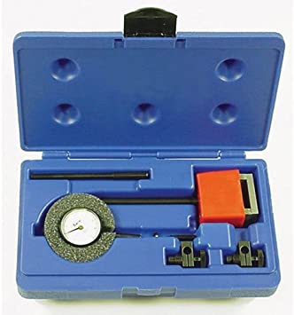 Central Tools 3D102 Dial Indicator Set with On//Off Magnetic Base