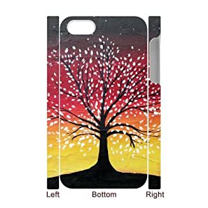 ALICASE Diy 3D Protection Hard Case Tree of Life For Iphone 5C [Pattern-1]