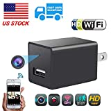 Hidden Camera WiFi Adapter 1080P Spy Camera Wall Charger with Night Vision Spy USB Camera Mini with Motion Detection Plug Camera Hidden Wireless with Playback – Real Time Home or Office Surveillance Review