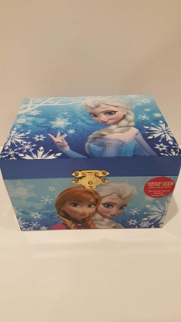 Disney Frozen Elsa and Anna Music Jewelry Box, Blue by Frozen