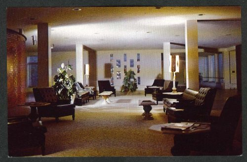 Regina Memorial Hospital Hastings MN Nursing Home Lobby Postcard 1970s