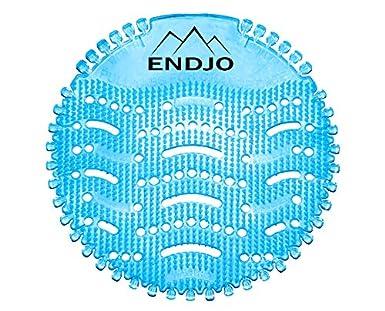 Blau, 10pcs ENDJO Urinalsieb Baumwollbl/üte Spritzschutz Kalenderfunktion Urinal Pissoir Herrentoilette Frischeduft Universalgr/ö/ße Hygiene