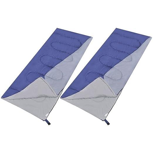 Vidaxl 2x Schlafsack Deckenschlafsack Camping Zelt Outdoor